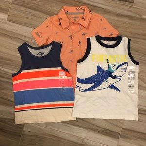 OshKosh B'Gosh / Carter's Tees - Bundle of 3